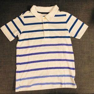 OshKosh Polo Stripe Cotton collar button 6
